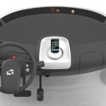 GEM Peapod – Center Console with iPhone