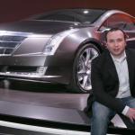 James Gasparotto of General Motors Design with Cadillac Converj