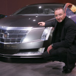 Simon Cox of General Motors Design with the Cadillac Converj