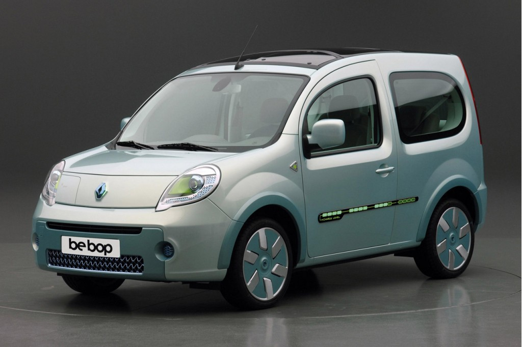 electrique renault d voile la kangoo be bop z e et ses plans 2010 2012 greenunivers. Black Bedroom Furniture Sets. Home Design Ideas
