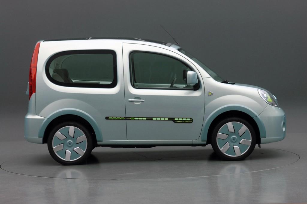 electrique renault d voile la kangoo be bop z e et ses plans 2010 2012 greenunivers. Black Bedroom Furniture Sets. Home Design Ideas