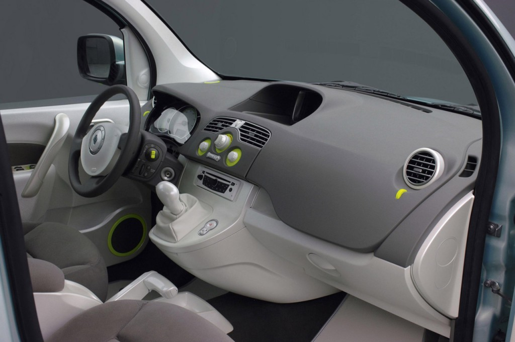 renault kangoo be bop ze electric interieur