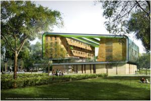 © architecte : atelier Thierry Roche et associés ; infographiste : Jérôme Danière ; École des Ponts ParisTech