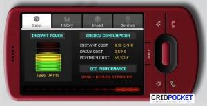 GPAppShot 300x154 GridPocket gère la consommation électrique avec le téléphone mobile