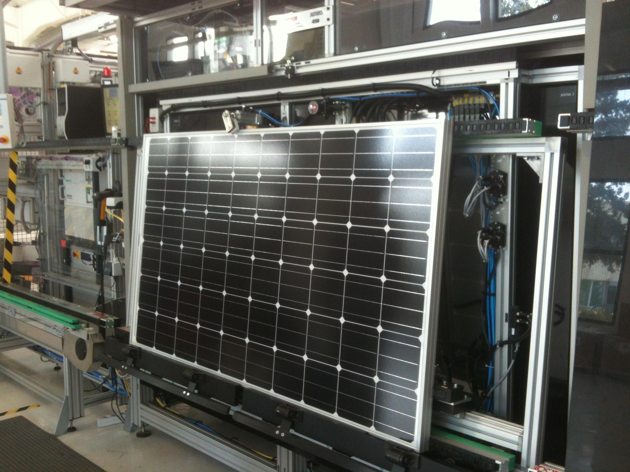 Repère : les fabricants de panneaux photovoltaïques en France