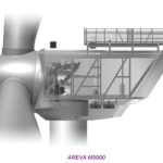 Areva eolien 5 MW M5000