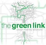 the green link logo