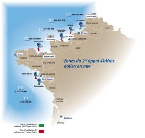 appel offre eolien offshore noirmoutier treport