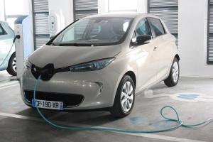 La ZOE, dernière née de la gamme Z.E de Renault  Photo : A-C Poirier