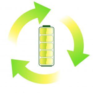 Batterie verte