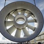 Suivi chantier hydroliennes de Paimpol – Bréhat – Mise en place de la turbine sur la barge.