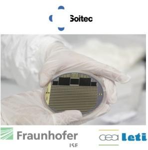 Cellule solaire à quatre jonctions (43,6 % de rendement) pour le solaire CPV Copyright Soitec