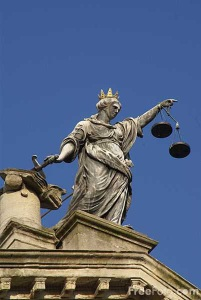 Scales of justice, The Guildhall, City of Bath
