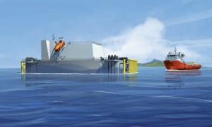 Vision d'une centrale ETM (Source : DCNS)