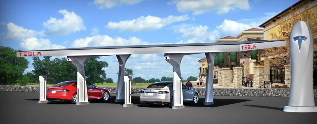 Crédits : Tesla Motors