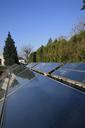 Capteurs solaires de la piscine de Feurs (42)
