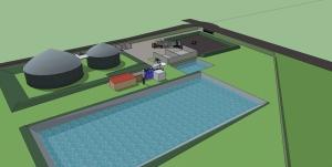 Le projet de Nouzilly (Cap Vert Energie)