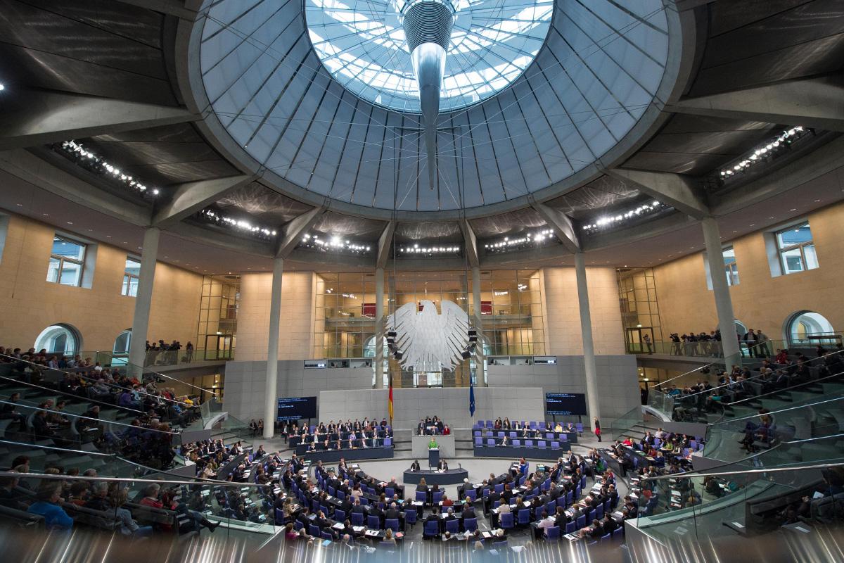 Le Bundestag à Berlin