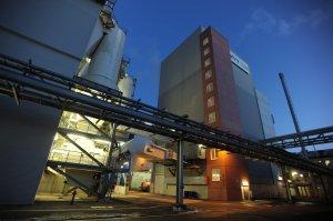 L'usine MVV de cogénération industrielle, à Gersthofen, produit de l'électricité et de la vapeur à partir de dérivés de carburants. (Crédit MVV)
