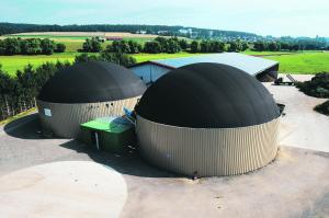 Unité de méthanisation agricole. (Crédit : club biogaz ATEE)