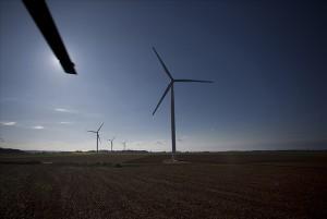 Site d'éoliennes en Vendée. (Crédit : smartgridvendee.fr)
