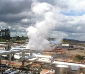 Une centrale géothermique. (Crédit : Geodeep)