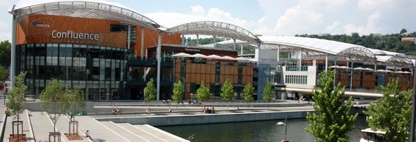 Quartier de la Confluence à Lyon