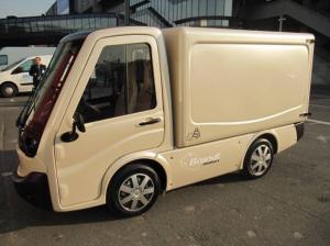 Le Citélec commercialisé par SITL, sous la marque Brandt Motors