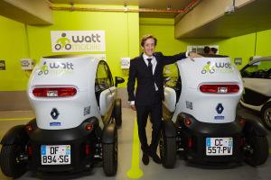 David Lainé, président de Wattmobile. (Crédit : Wattmobile)