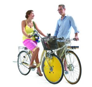 La roue électrique de Rool'in se vend entre 769 et 900 euros. (Crédit : Rool'in)