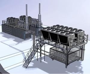 La technologie turbomachine ORC développée par Aqylon. (Crédit : Aqylon)