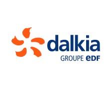 Le nouveau logo de Dalkia France, désormais sous le giron d'EDF