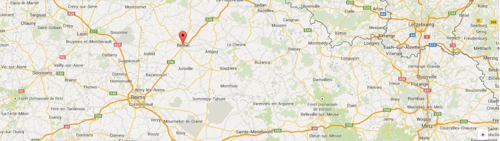 Rethel, en région Champagne-Ardennes