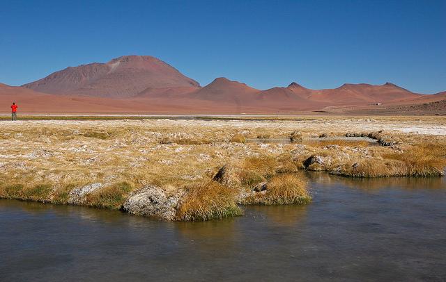 Le désert d'Atacama, au Chili. (Crédit : Danielle Pereire, Flickr)