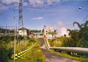 La centrale de Lahendong, mise en service en 2001 sur l'île de Sulawesi. (Crédit :)