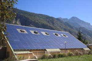 Toitures solaires. (Crédit : Sunalp)