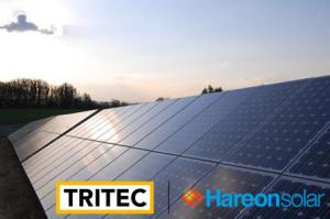 Le partenariat pour des projets solaires de 600 MW entre le suisse Tritec et Hareon a été annoncé fin août. (Crédit : Tritec)