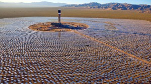 A Ouarzazate, la première centrale de 160 MW, utilisant la technologie CSP, entrera en service à l'été 2015.