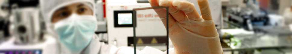 Film PV transparent. (Crédit : Sunpartner Technologies)