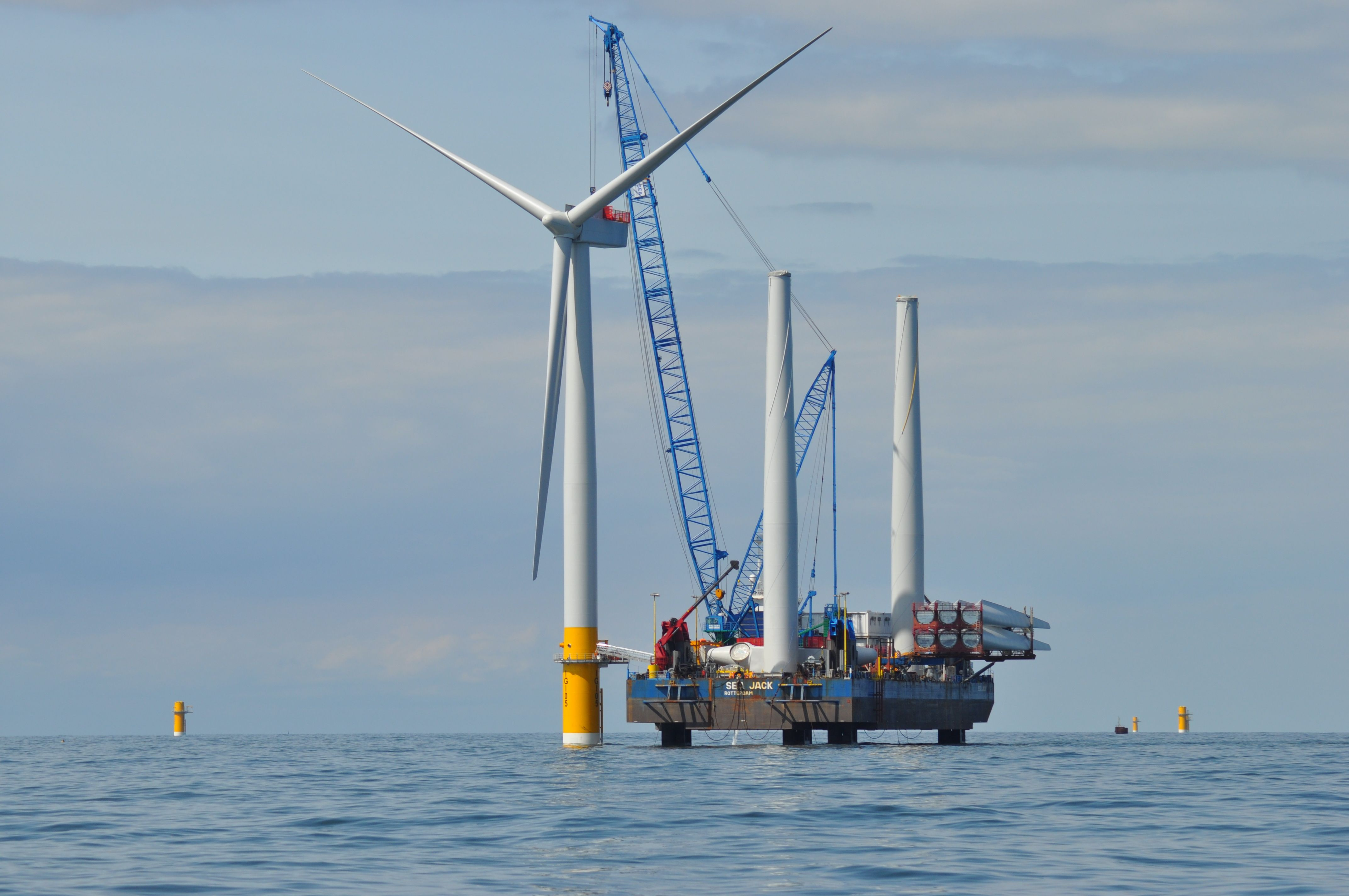 Greater Gabbard offshore wind farm (Crédit : Flicker / DECC)