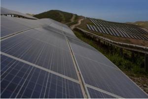 Une ferme PV de Delta Solar en Corse. (Crédit : Eco Delta)