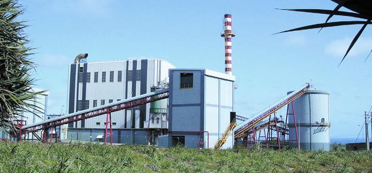 Une centrale biomasse. (Crédit : Albioma)