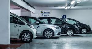 Ubeeqo gère une flotte de plus de 500 véhicules. (Crédit : Ubeeqo)