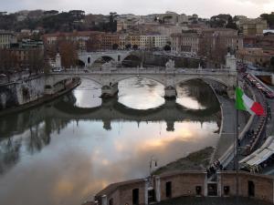 Rome. (Crédit : Flickr/Juan Llanos)