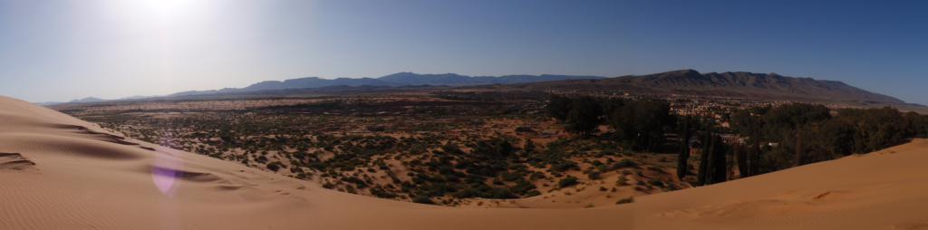 Ain Sefra, dans l'ouest algérien. (Crédit : Flickr/Daggett.fr)