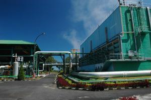 La centrale de Lahendong en Indonésie. (Crédit : Alstom)
