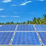 Ferme Photovoltaique au sol Akuo Energy, Pierrefonds, La Réunion