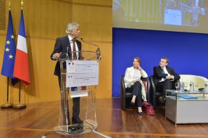 Jean-Claude Andréini, Ségolène Royal et Emmanuel Macron (DR)