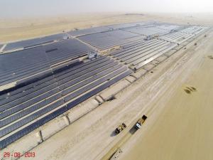 Parc solaire (Crédit : Dewa)