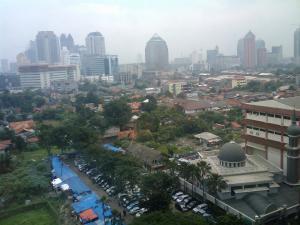 Jakarta, Indonésie. (crédit : Flickr/Marc van der Chijs)